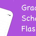 Grade School Flashcards App Released